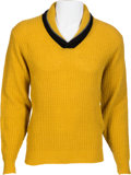 Music Memorabilia:Memorabilia, Buddy Holly Personally Owned Sweater (Late 1950s)....