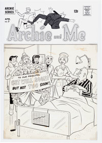 Dan DeCarlo and Rudy Lapick Archie and Me #7 Cover Original Art (Archie Comics, 1966)