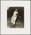 Baseball Collectibles:Photos, Satchel Paige Signed Photograph....