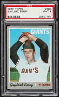 Baseball Cards:Singles (1970-Now), 1970 Topps Gaylord Perry #560 PSA Mint 9....