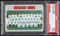 Baseball Cards:Singles (1970-Now), 1970 Topps Cubs Team #593 PSA Mint 9....