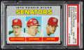 Baseball Cards:Singles (1970-Now), 1970 Topps Senators Rookies #599 PSA Gem Mint 10 - Pop Three....