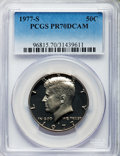 Proof Kennedy Half Dollars: , 1977-S 50C PR70 Deep Cameo PCGS. PCGS Population (318). NGC Census: (39). Numismedia Wsl. Price for problem free NGC/PCGS ...