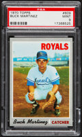 Baseball Cards:Singles (1970-Now), 1970 Topps Buck Martinez #609 PSA Mint 9....
