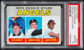 Baseball Cards:Singles (1970-Now), 1970 Topps Angels Rookies #642 PSA Gem Mint 10 - Pop One. ...
