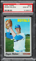 Baseball Cards:Singles (1970-Now), 1970 Topps Roger Nelson #633 PSA Gem Mint 10....