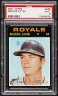 Baseball Cards:Singles (1970-Now), 1971 Topps Freddie Patek #626 PSA Mint 9....