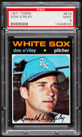 Baseball Cards:Singles (1970-Now), 1971 Topps Don O' riley #679 PSA Mint 9....