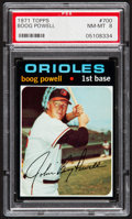 Baseball Cards:Singles (1970-Now), 1971 Topps Boog Powell #700 PSA NM-MT 8....