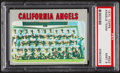 Baseball Cards:Singles (1970-Now), 1970 Topps Angels Team #522 PSA Mint 9....