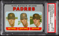 Baseball Cards:Singles (1970-Now), 1970 Topps Padres Rookies #573 PSA Gem Mint 10....