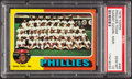 Baseball Cards:Singles (1970-Now), 1975 Topps Phillies Team #46 PSA Gem Mint 10 - Pop Two....