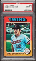 Baseball Cards:Singles (1970-Now), 1975 Topps Eric Soderholm #54 PSA Mint 9....