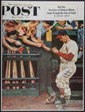 Baseball Collectibles:Photos, Stan Musial Signed Oversized Poster. ...
