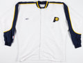 Basketball Collectibles:Uniforms, Indiana Pacers Game Worn Warmup Jacket and Pants....