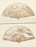 Books:Art & Architecture, Lady Charlotte Schreiber. Fans and Fan Leaves. English.Collected and Described by Lady Charlotte Schreiber with 161 Ill...(Total: 2 Items)
