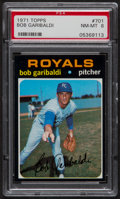 Baseball Cards:Singles (1970-Now), 1971 Topps Bob Garibaldi #701 PSA NM-MT 8....