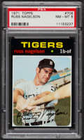 Baseball Cards:Singles (1970-Now), 1971 Topps Russ Nagelson #708 PSA NM-MT 8....
