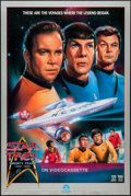 "Movie Posters:Science Fiction, Star Trek (Paramount, R-1986). 20th Anniversary Video One Sheet(26.75"" X 40""). Science Fiction.. ..."