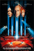 """Movie Posters:Science Fiction, The Fifth Element (Columbia, 1997). One Sheets (27"""" X 40"""") DS Advance & Regular. Science Fiction.. ... (Total: 2 Items)"""
