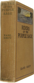 Books:First Editions, Zane Grey: Riders of the Purple Sage....