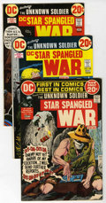 Bronze Age (1970-1979):War, Star Spangled War Stories #164-204 Group (DC, 1972-77) Condition: Average VF.... (Total: 42 Comic Books)