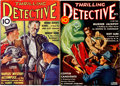 Pulps:Detective, Thrilling Detective Group of 2 (Better Publications, 1935-39)Condition: Average FN-.... (Total: 2 Comic Books)