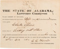 Miscellaneous:Ephemera, [Slavery]. Indictment Against Charles Spiers for Trading withSlaves....
