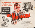 "Movie Posters:Crime, The Hoodlum (United Artists, 1951). Half Sheet (22"" X 28""). Crime....."