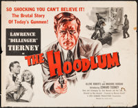"The Hoodlum (United Artists, 1951). Half Sheet (22"" X 28""). Crime"