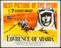 "Movie Posters:Academy Award Winners, Lawrence of Arabia (Columbia, 1962). Half Sheet (22"" X 28"") StyleC. Academy Award Winners.. ..."