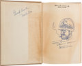 Autographs:Artists, Bill Mauldin Inscribed and Signed Copy of Up Front with anOriginal Drawing....