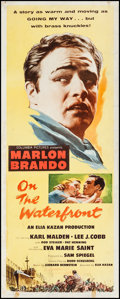 "Movie Posters:Academy Award Winners, On the Waterfront (Columbia, 1954). Insert (14"" X 36""). AcademyAward Winners.. ..."