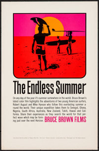 "The Endless Summer (Bruce Brown Films, 1966). Special Poster (11"" X 17""). Sports"