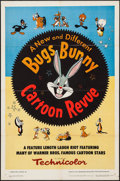 "Movie Posters:Animation, Bugs Bunny Cartoon Revue (Warner Brothers, 1953). One Sheet (27"" X41""). Animation.. ..."