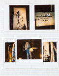 "Movie/TV Memorabilia:Documents, A Group of Special Effects Polaroids and Other Paperwork from""Darkman.""..."