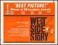 "Movie Posters:Academy Award Winners, West Side Story (United Artists, R-1962). Half Sheet (22"" X 28"").Academy Award Winners.. ..."