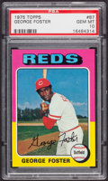 Baseball Cards:Singles (1970-Now), 1975 Topps George Foster #87 PSA Gem Mint 10....
