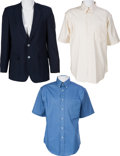 Music Memorabilia:Memorabilia, Buddy Holly Related - The Crickets Stage Worn Clothing. (1986-2007).... (Total: 3 Items)