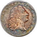 Early Half Dimes, 1795 H10C V-4, LM-10, R.3, MS65 PCGS....