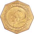 Commemorative Gold, 1915-S $50 Panama-Pacific 50 Dollar Octagonal MS65 NGC....