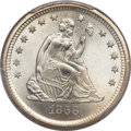 Seated Quarters, 1868-S 25C MS67+ PCGS. CAC. Briggs 1-A....