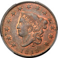 1819 1C Small Date, N-9, R.1, MS64 Red and Brown PCGS. CAC....(PCGS# 36653)