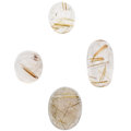 Estate Jewelry:Unmounted Gemstones, Unmounted Rutilated Quartz. ...