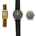 Timepieces:Wristwatch, Three Wristwatch For Parts Or Repair. ... (Total: 3 Items)