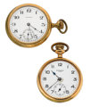 Timepieces:Pocket (post 1900), Waltham & New York Standard Open Face Pocket Watches. ...(Total: 2 Items)