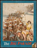 "Movie Posters:War, The Big Parade (MGM, 1925). Program (16 Pages, 9.25"" X 12""). War....."