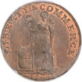 Colonials, 1794 1C Talbot, Allum & Lee Mule, Howard Reverse, Lettered Edge, MS64 Brown PCGS. Breen-1049, W-8720, R.4....