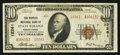 National Bank Notes:Pennsylvania, State College, PA - $10 1929 Ty. 2 The Peoples NB Ch. # 12261. ...