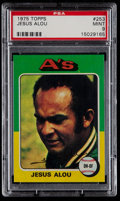 Baseball Cards:Singles (1970-Now), 1975 Topps Jesus Alou #253 PSA Mint 9....